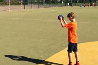 handbal kinderfeestje